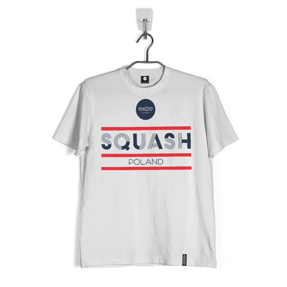 T-shirt SQSH Poland White